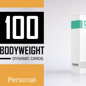 100 Bodyweight Cards + DW Cards