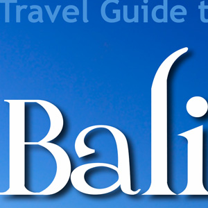 Travel Guide to Bali ebook