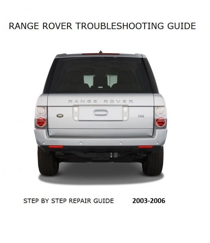Download Repair Guide - Range Rover 2002 2003 2004 2005 2006